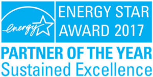 Energy Star Award 2017, Partner of the Year in Sustained Excellence