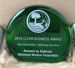 Keep Henrico Beautiful Selects Richmond Window As
